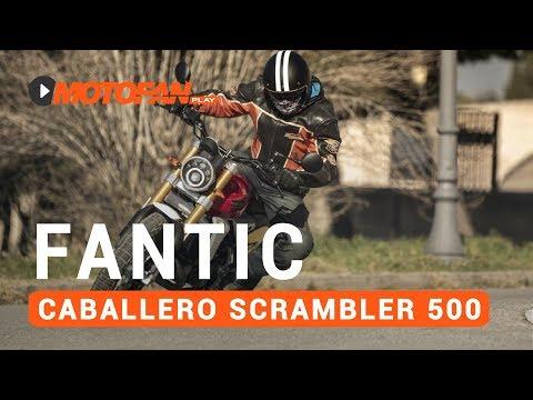 Vídeos de la Fantic Caballero Scrambler 500