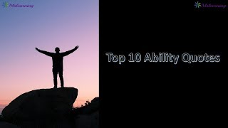 New WhatsApp status video about ability | Life inspiring quotes