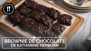BROWNIE DE CHOCOLATE de Katherine Hepburn