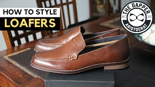 How To Wear Loafers Men | How To Style Loafers Men