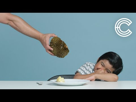Kids Try Exotic Fruit