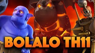 Bolaloon 3 Star Strategy | Strong TH11 Attack | Clash Of Clans