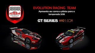 Apresentação de Carros e Pilotos para GT SERIES 2018