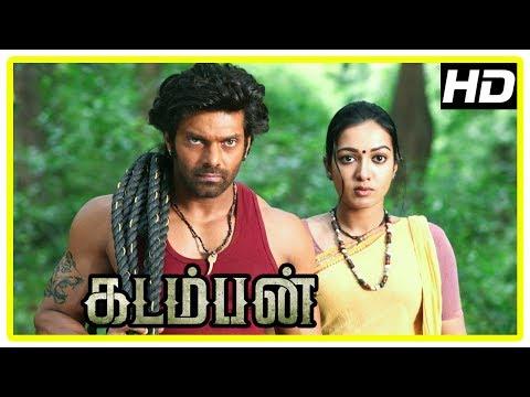 Kadamban Tamil Movie   Arya captures Elephant Tusk stealers   Catherine Tresa   Yuvan Shankar Raja