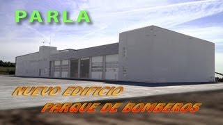 preview picture of video 'Nuevo parque de bomberos de PARLA (Final obra)'