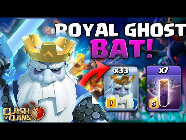 WOW ! NIESAMOWITA SIŁA MASS ROYAL GHOST  - Clash of Clans POLSKA