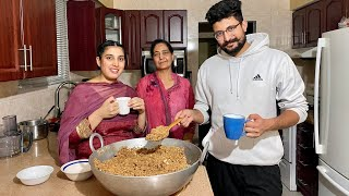 How to Make Panjiri For New Mother   Panjiri Recipe for Post Delivery Moms   Punjabi Panjiri Recipe