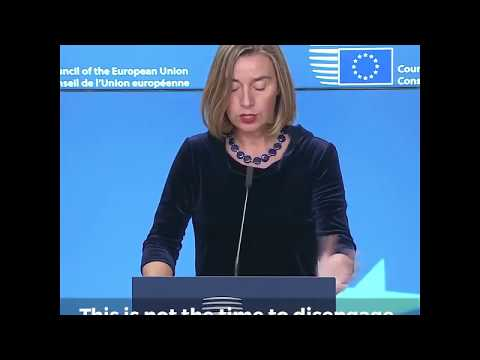 Joint press statements by Mogherini and Abbas