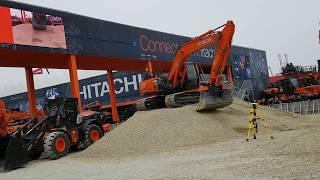 Hitachi Live Demo Show Bauma 2019