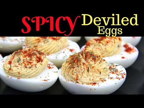 Video How to Make Spicy Deviled Eggs