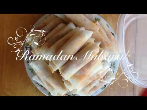 Video How to store freeze Samosas *Ramadan Recipes*