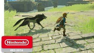 The Legend of Zelda: Breath of the Wild - amiibo Gameplay - Nintendo E3 2016