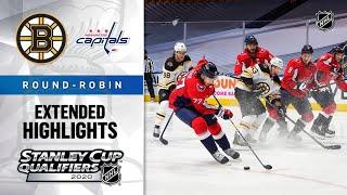 Boston Bruins Vs Washington Capitals RR, Aug 9, 2020 HIGHLIGHTS HD