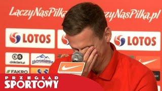 EURO 2016. Milik zaskoczony pytaniem od dziennikarza