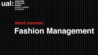 Fashion Management LCF Short Courses