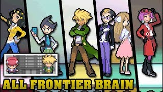 Pokémon DS Games - Every Frontier Brains Battles (Silver Prints)