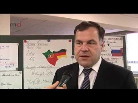 MigrantenInnen lernen Deutsch in der Berufsschule