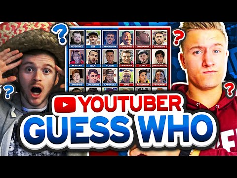 YOUTUBER GUESS WHO!!!