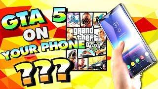 Play GTA 5 on Your Phone???