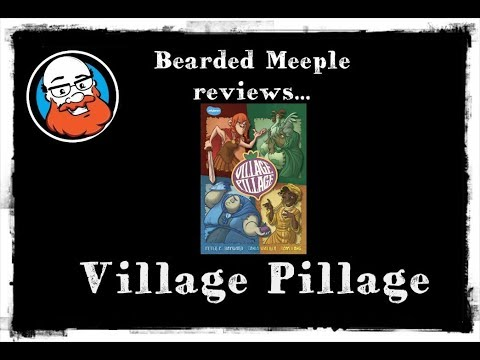 Bearded Meeple reviews : Village Pillage