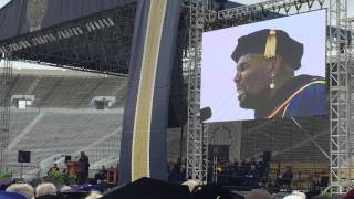 Aaron Neville sings Schubert's Ave Maria at the University of Notre Dame