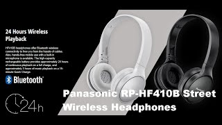 PANASONIC RP-HF410B BUDGET HEADPHONES - IS IT WORTH BUYING & WHAT SOUND IS THERE? UNBOXING  REVIEW