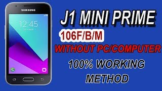 Bypass J1 Mini Prime (J106F/M) Frp Unlock Without Any Computer Easy Method 2018