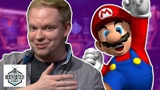 Mario VS Sonic Sneak Peek   DEATH BATTLE Cast