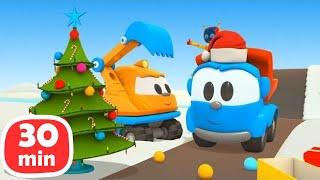 Грузовичок Лева - Новогодние серии. Сборник мультиков для детей