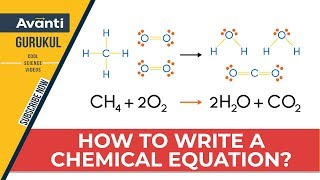 How To Write A Chemical Equation?