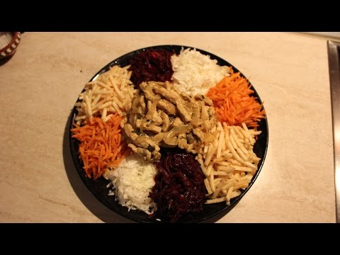Мой любимый салат Чафан