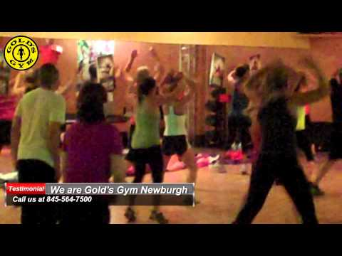 Les Mills Bodyattack at Gold's Gym Newburgh, making fit happen! Check this out!