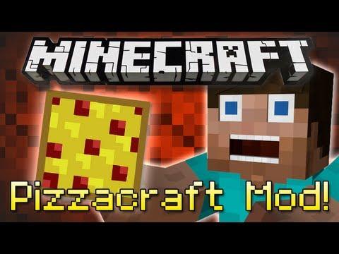 Minecraft : PIZZACRAFT MOD!