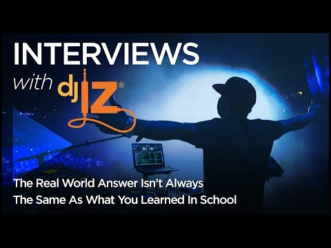 DJ IZ: The Real World Answer Isn't Always the Same As What You Learned in School