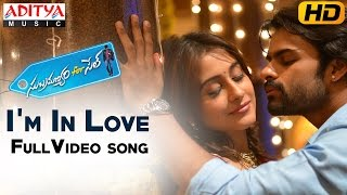 I'm In Love Mp3 Song || Subramanyam For Sale  Video Songs