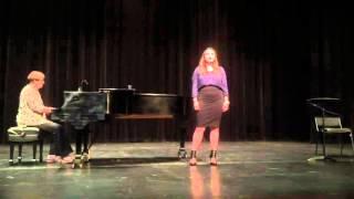 Lela sings Caro Mio Ben by Giuseppe Giordani