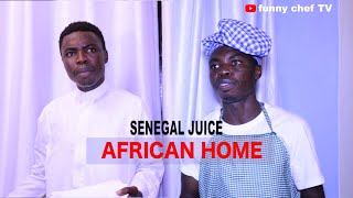 HOW TO PREPARE SENEGAL JUICE (funny chef TV ) AFRICAN HOME