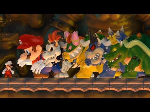 New Super Mario Bros Wii - Top 5 Final Boss Hacks