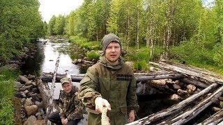 Таежная рыбалка на дальних озерах