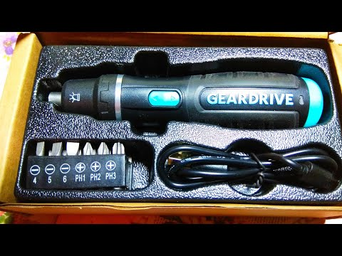 Электрическая отвертка Geardrive WORKPRO / Electric screwdriver Geardrive WORKPRO