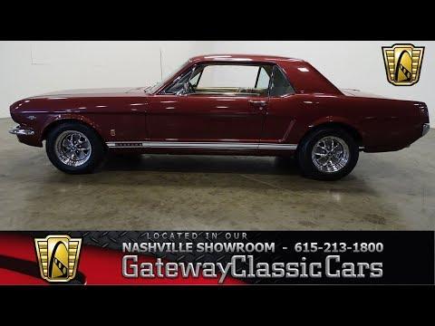 Video of '66 Mustang - N82Z
