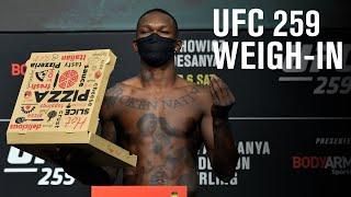 UFC 259: spettacolo alla cerimonia del peso. Il video integrale