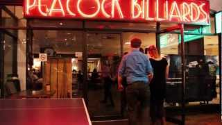 PEACOCK BILLIARDS