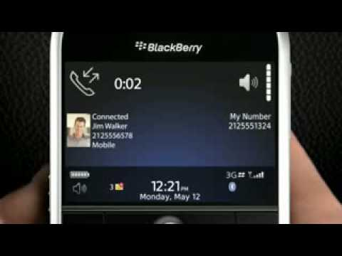 BlackBerry Bold 9000 Unlocked PDA GSM Cell Phone Ad Commercial