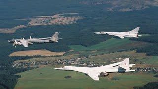 Дальняя Авиация, военно воздушных сил - основа ядерной триады России. фильм