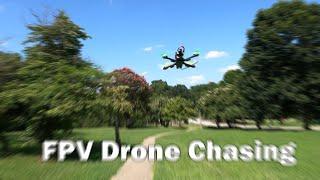 Chasing an FPV Drone - It's sooo fun!!! ???? GoPro Hero8 Black ☕