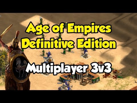 Age of Empires: Definitive Edition gameplay (MP 3v3)