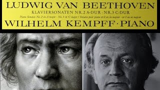 Beethoven / W. Kempff, 1964: Sonata No. 3 in C Major, Op. 2 No. 3