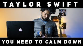 Taylor Swift   You Need To Calm Down Cover || By 🔺Ashwin Bhaskar🔻