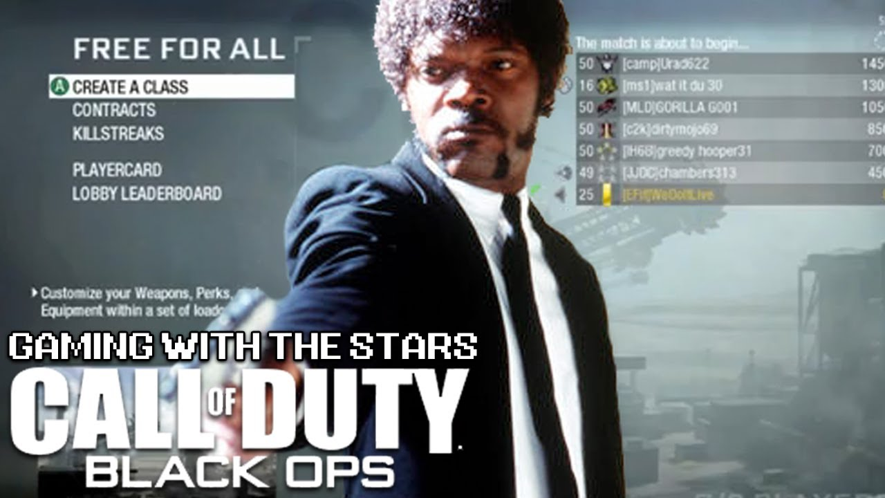 Samuel L. Jackson Plays Black Ops
